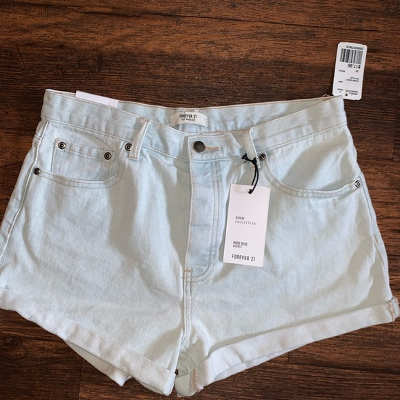 Forever 21 Pants - Forever 21 | High-Rise Shorts Size 28